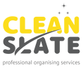 Clean slate - professional organising services Aberdeen logo