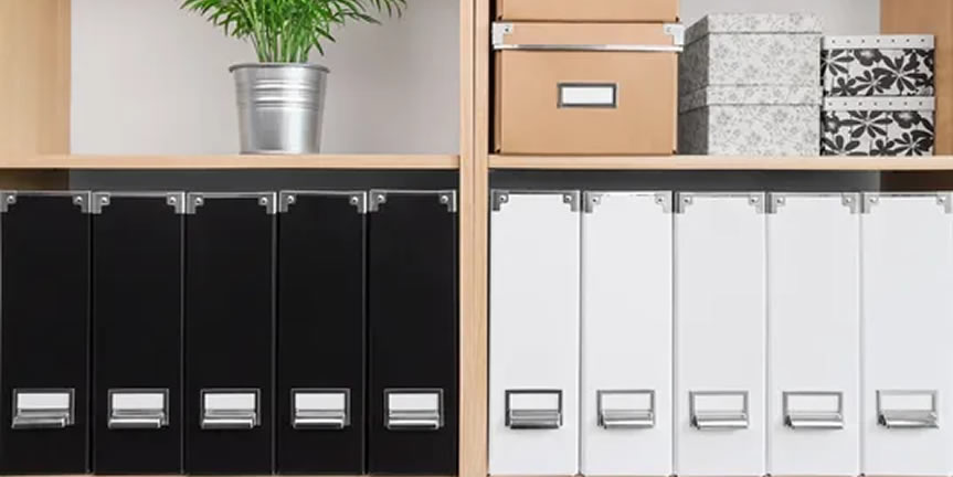 Clean slate - professional organising services Aberdeen organised and orderly