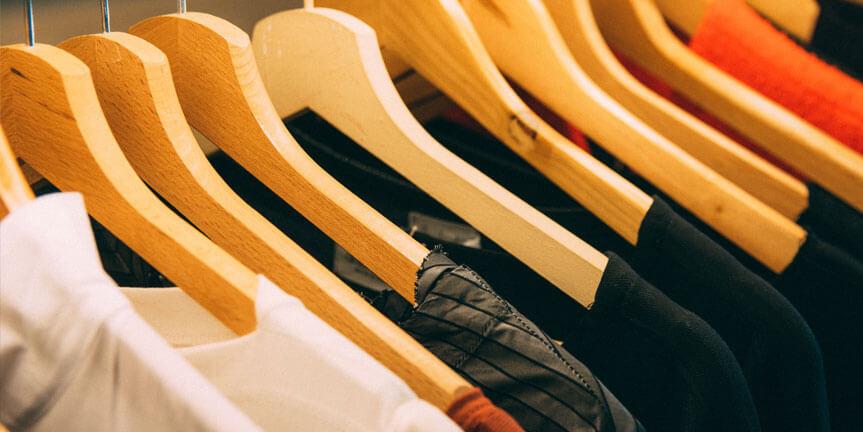 Clean slate - professional organising services Aberdeen organised wardrobes